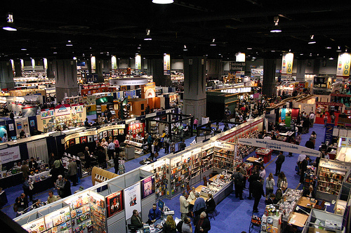 BookExpo America, as seen by your guardian angel