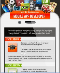 how to become an app developer uk