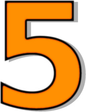 number_5_orange