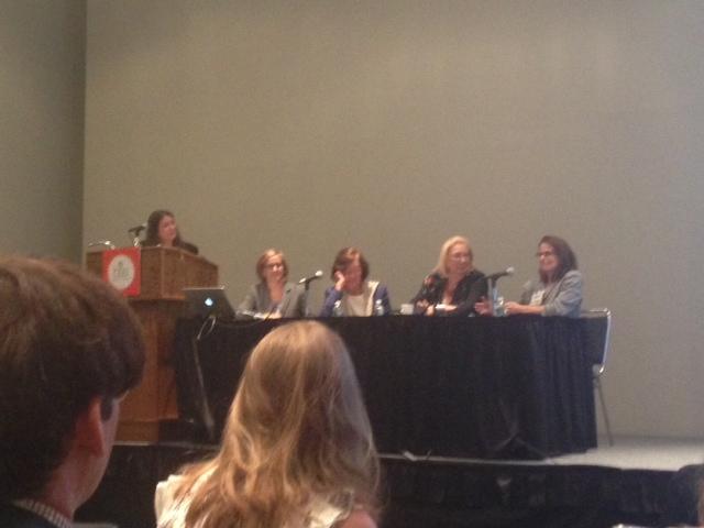 Jane von Mehren, Libby McGuire, Tina Weiner, Jane Friedman, Janet Goldstein