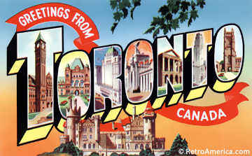 Not new york book business and culture in toronto canada greetings from toronto canada postcard m4hsunfo