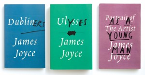 Peter Mendelsund's redesigns of classic James Joyce covers