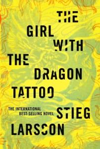 The Girl with The Dragon Tattoo, another design by Peter Mendelsund